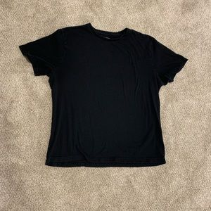 Banana Republic Plain Black Tee